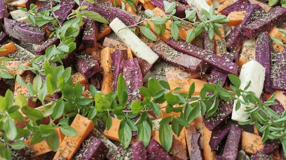 Domowe frytki z batatów