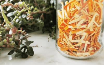 Skórka z mandarynki i jej prozdrowotne właściwości