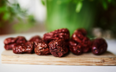 Daktyle czerwone (Da Zao), czyli owoc głożyny