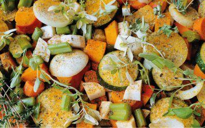 Jesienny przepis na zapiekane warzywa