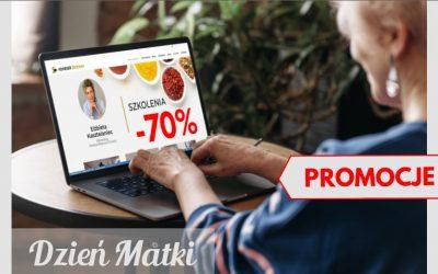 Prezent na Dzień Matki – Promocyjne ceny szkoleń – do -70%