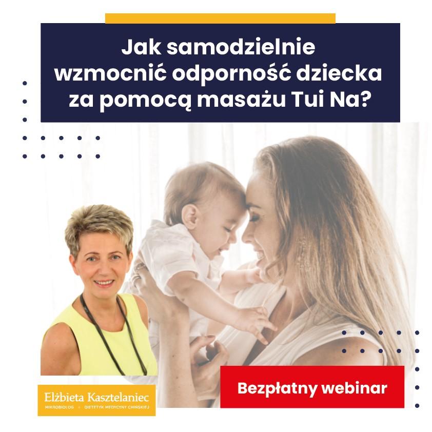 Masaż Tui Na dla dzieci - Bezpłatny Webinar